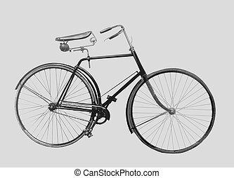 vélo, vieux façonné