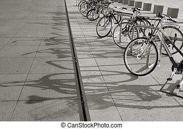 vélos, rang