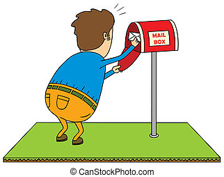 vérification, boîte lettres