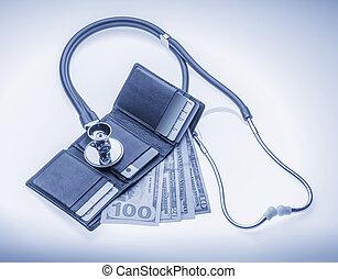 vérification, cout, services médicaux