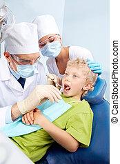vérification, dentaire