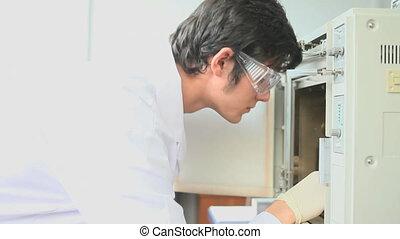vérification, incubateur, scientifique