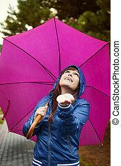 vérification, pour, pluie