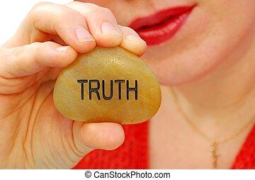 vérité, parler
