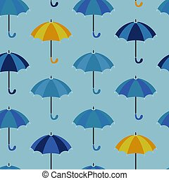 vêtements, parapluie, design., handle., parfois, modèle,...