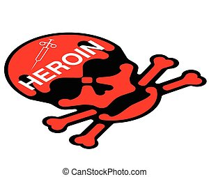 vício, heroína
