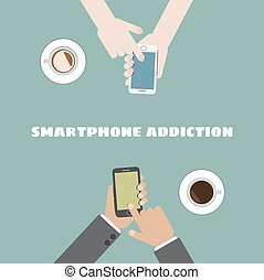 vício, smartphone