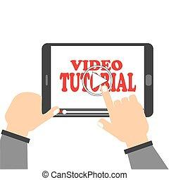 vídeo, preceptoral