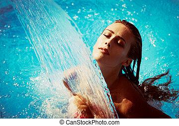 víz, élvezet