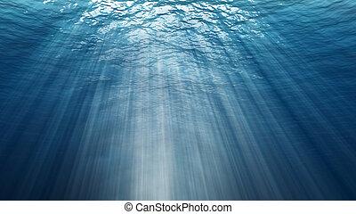 víz alatti, elvont, háttér., háttérfüggöny, digitális