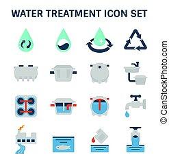 víz bánásmód, ikon