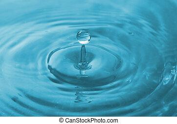 víz, esés, csepp