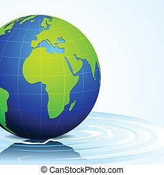 víz, földdel feltölt