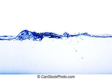 víz folyik
