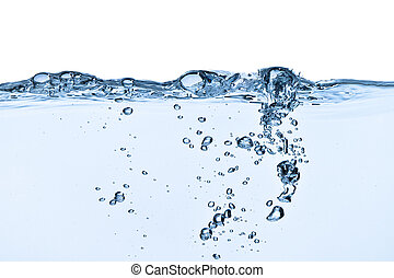 víz, fröcskölő