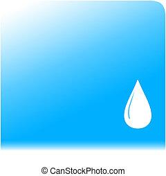 víz, háttér, noha, csepp