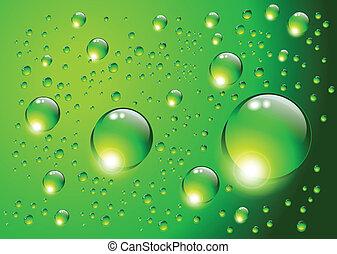 víz, háttér., savanyúcukorka, vektor
