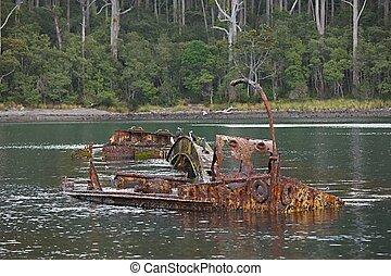 víz, hajótörés