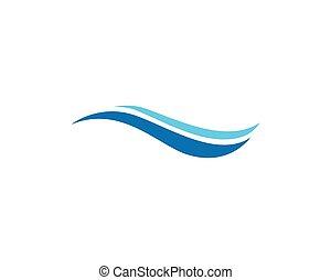 víz, jel, kék, tengerpart, lenget
