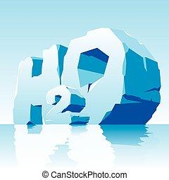 víz, jelkép, h2o, jég