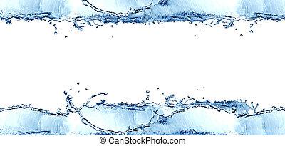 víz, keret