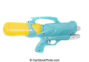 víz, műanyag, színes, pisztoly
