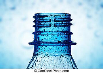 víz, makro, savanyúcukorka, nyak, palack