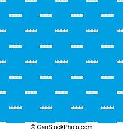 víz példa, kék, seamless