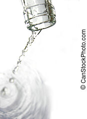 víz palack