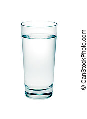 víz pohár