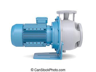 víz pumpa, motor