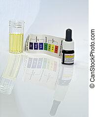 víz, reagens, teszt, fanyar, ph, sav