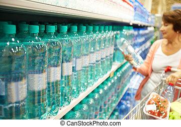 víz, vásárlás