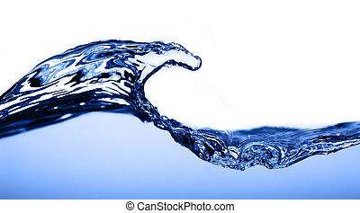 víz, világos