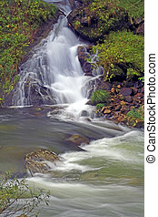 vízesés, és, folyó