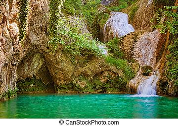 vízesés, bulgária