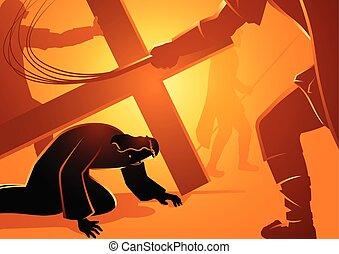 vízesés, jézus