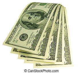 vízesés, közül, pénz