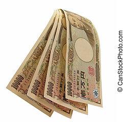 vízesés, közül, yens