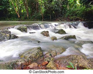 vízesés, thaiföld