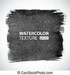 vízfestmény, húzott, kéz, grunge, háttér.