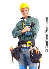 vízvezeték szerelő, munkás