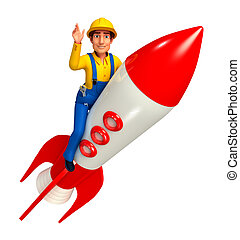 vízvezeték szerelő, rakéta
