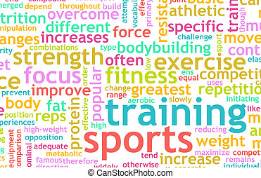 výcvik, sportovní