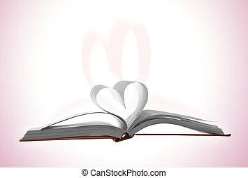 výklad, a, zamluvit, láska
