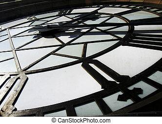 věž, hodiny