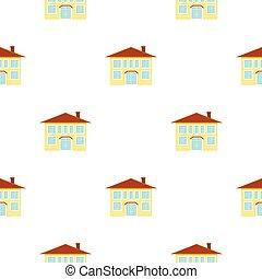 věž, ikona, pattern., svobodný, budova, ikona, od, ta, důleitý velkoměsto, infrastruktura, pattern.