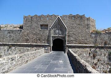 věž, main entrance