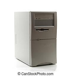 věž, počítač