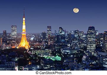 věž, tokio